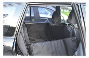 перевозка лабрадора в машине в автогамаке